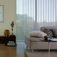 Vertical Blinds With Sheers Light Filtering Vertical Sheer Shadings Thehomedepot