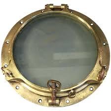 porthole mirrored medicine cabinet porthole cabinet massive brass porthole 1 royal naval porthole