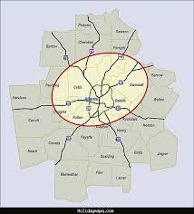 map of atlanta metro area atlanta metro map map travel holidaymapq com