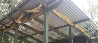 can unvented roof assemblies be insulated with fiberglass fiberglass insulation for metal roofs