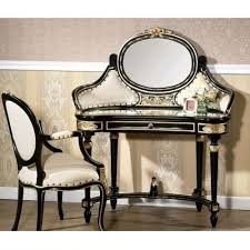 black gold french vanity antique bedroom vanity