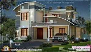 Arabian Model House Elevation Kerala Luxurious Pillar Type Home Design Kerala Home Design Floor Plans