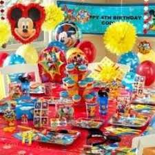 Mickey Mouse Party Theme Decorations - the 25 best mickey mouse party supplies ideas on pinterest
