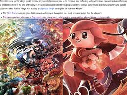 The Villager Meme - is nintendo admiring the killager meme by kittenlover75 on deviantart