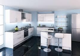 cuisine blanche sol noir cuisine blanche sol noir ides