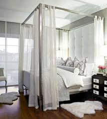 White Canopy Bed Curtains 33 Amazing White Canopy Bed Designs For Your Bedroom Fresh