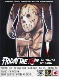 friday the 13th halloween art show in chicago at sideshow gallery
