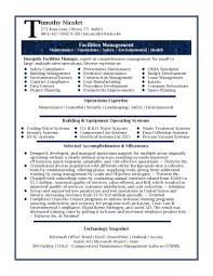 Maintenance Resume Objective Clinical Data Management Resume Objective Clinical Manager Sample