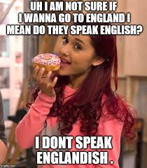What Does Meme Mean In English - ariana grande donut memes imgflip
