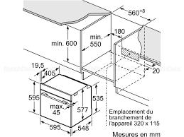 Comment Installer Un Four Encastrable by Siemens Hb676g0s1f Fours