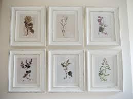 a handmade cottage botanical print feature wall u0026 how to hang
