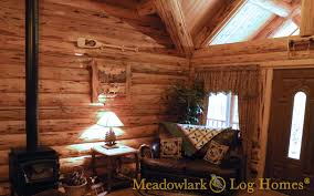 16x20 log cabin meadowlark log homes montana rancher log homestead meadowlark log homes