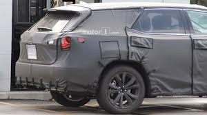 lexus crossover pictures lexus rx with three rows of seats spied under development