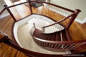 Radius Stairs by Oak Curved Flare01 Jpg