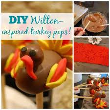 wilton inspired plentiful plumage turkey cake pops cakesdecor