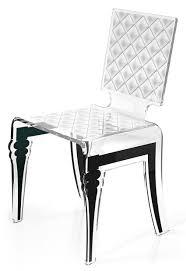 chaise plexi pas cher chaise design plexi