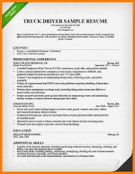Truck Driving Resume Sample by 5 Truck Driver Resume Example Sephora Resume