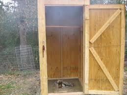 Backyard Smokers Plans How To Build A Backyard Smokehouse Outdoor Furniture Design And