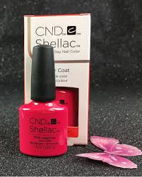 cnd shellac pink leggings 91404 gel color coat new wave spring