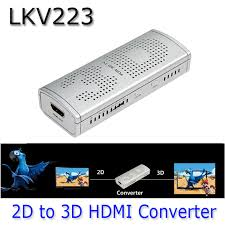 New 3d Tv Aliexpress Com Buy Lkv223 New 2d To 3d Hdmi Video Converter Box