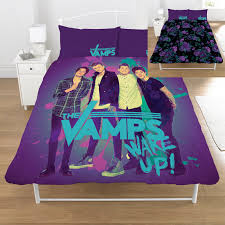 Bedroom Band The Vamps Wake Up Reversible Bed Set My Dream Bedroom