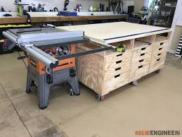 Ideas For Workbench With Drawers Design Ultimate Workstation Rogue Engineer