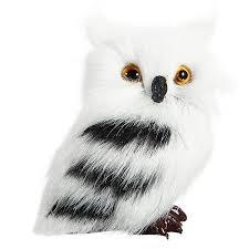 owl white black ornament decoration adornment