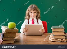 Kid At Desk by School Kid Sitting Desk Class Happy Stock Photo 306713087