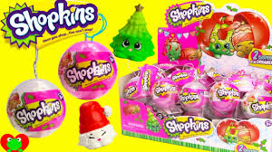 2016 shopkins christmas ornaments youtube
