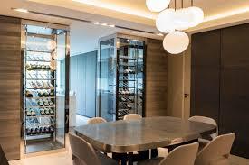cuisine vin appartement c 2 caves à vin pour une séparation cuisine salle