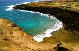 where is the black sand beach hawaiian beach sand