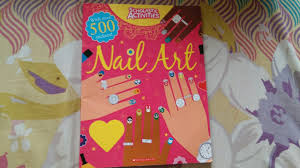 nail art scholastic activities book review youtube