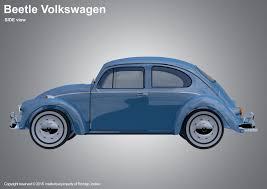 volkswagen beetle side view rodrigo jonker beetle car