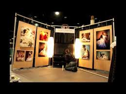 Wedding Expo Backdrop Time Lapse Of Bridal Show Booth Setup Gregory Byerline