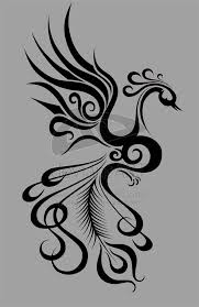 pretty and incorporates feather and treble clef for additional