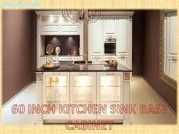 Kitchen Sink Base 60 Inch Kitchen Sink Base Cabinet Bestreddingchiropractor