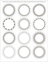 best 25 round labels ideas on pinterest free printable labels