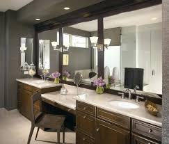 Contemporary Makeup Vanity Bathrooms Design Makeup Vanity Set Bathroom Traditional With