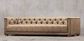 Leather Tufted Sofa Sofa Collections Rh
