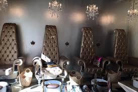 glamorous life at bella nail lounge and beauty bar royal decor