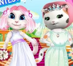 angela games play talking angela games