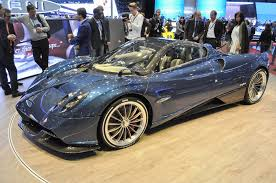 pagani huayra amg engine lightweight pagani huayra roadster arrives to warp your brain