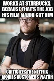 Film Major Meme - hipster barista meme imgflip