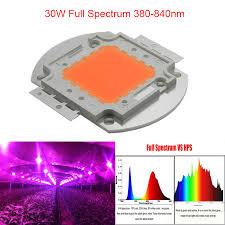what color light do plants grow best in 1pcs lot 2014 new arrival indoor diy growlight 30w full spectrum 380