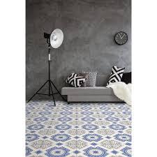 peregalli azul porcelain tile 18in x 18in 100340918 floor