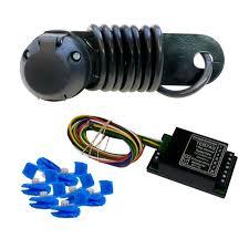 7 pin universal towbar wiring kit inc bypass relay universal