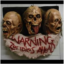 the collector halloween mask zombie wall decoration mad about horror