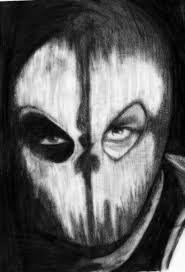 black ops ghost mask call of duty ghosts by deathlouis on deviantart
