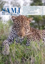 sle resume journalist position in kzn wildlife cing samj vol 105 no 10 2015 by hmpg issuu