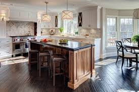 walnut island transitional kitchen jane kelly kitchen and